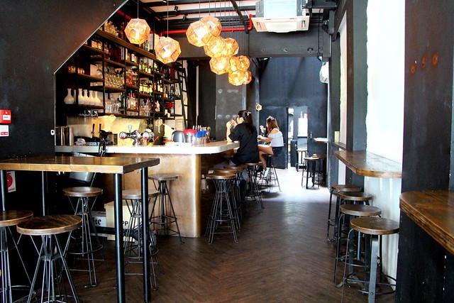 Interior of Joo Bar Restaurant