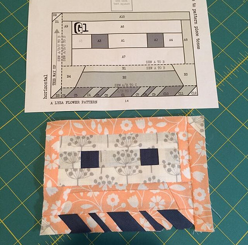 Paper pieced cassette tape, take 1