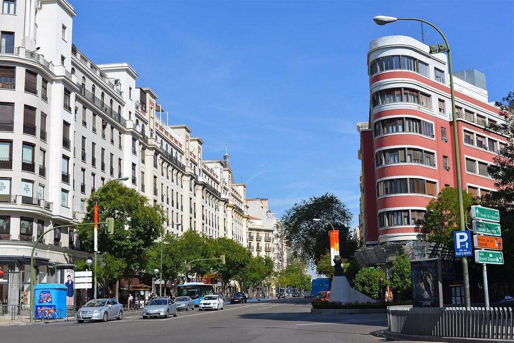 Calle de alcal cruce con calle goya madrid m roa flickr - H m calle orense madrid ...