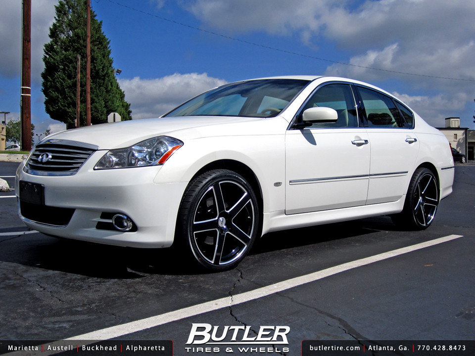 Infiniti M35 With 20in Tsw Rivage Wheels Additional