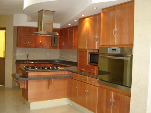 Cocina integral madera de cedro jj cocinas integrales for Planos para cocina integral de madera