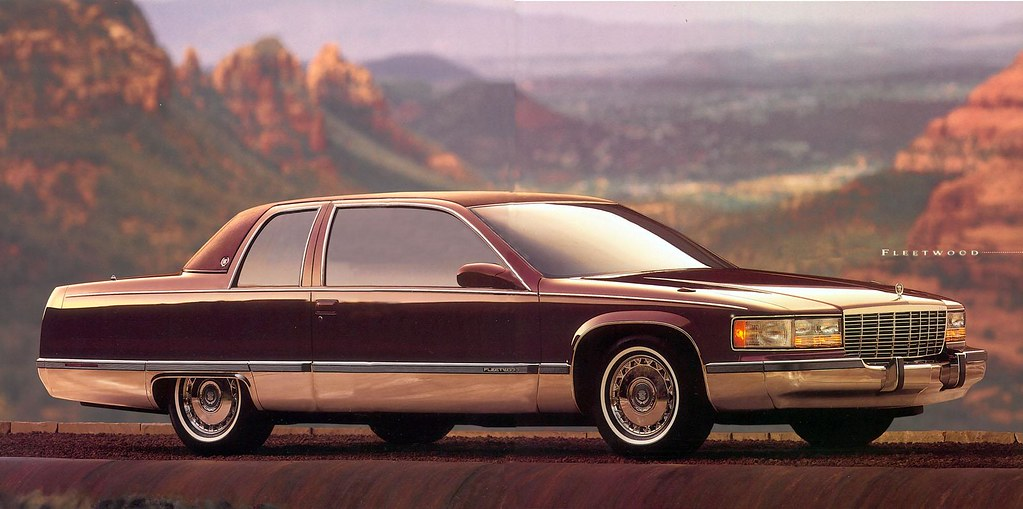 1994 cadillac fleetwood coupe a little concept that has al. Cars Review. Best American Auto & Cars Review
