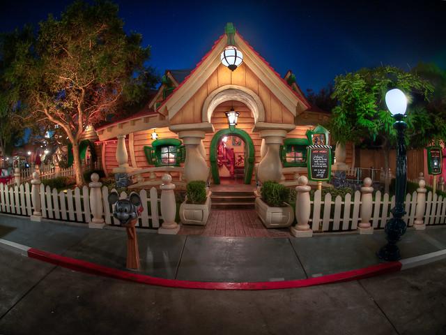 Mickey's House - Toontown - Disneyland | Flickr - Photo ...