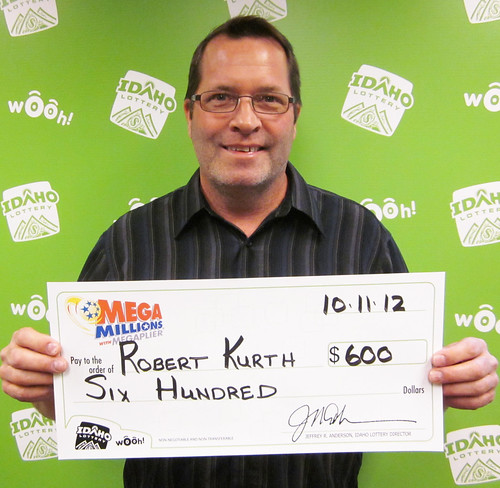 Robert Kurth - $600 Mega Millions | by Idaho Lottery