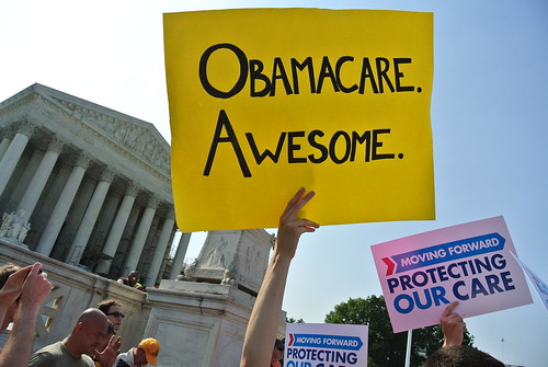Obamacare on the steps of the Supreme Court | by will1ill