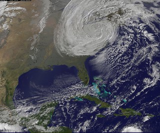 Satellite View of Post-Tropical Cyclone Sandy on Oct. 30 | by NASA Goddard Photo and Video