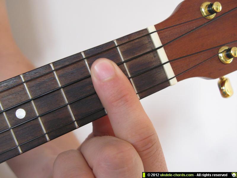 Gmaj7 ukulele chords | How to play a Gmaj7 on the soprano. F… | Flickr