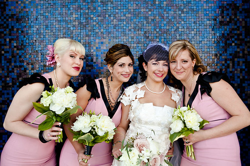 vintage-wedding-bride-bridesmaid-hair-styles | by vanmobilehair