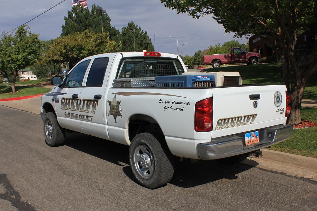 Dodge Ram Forum >> Slicktop Dodge Ram 2500 San Juan Sheriff, Utah | Looks like … | Flickr