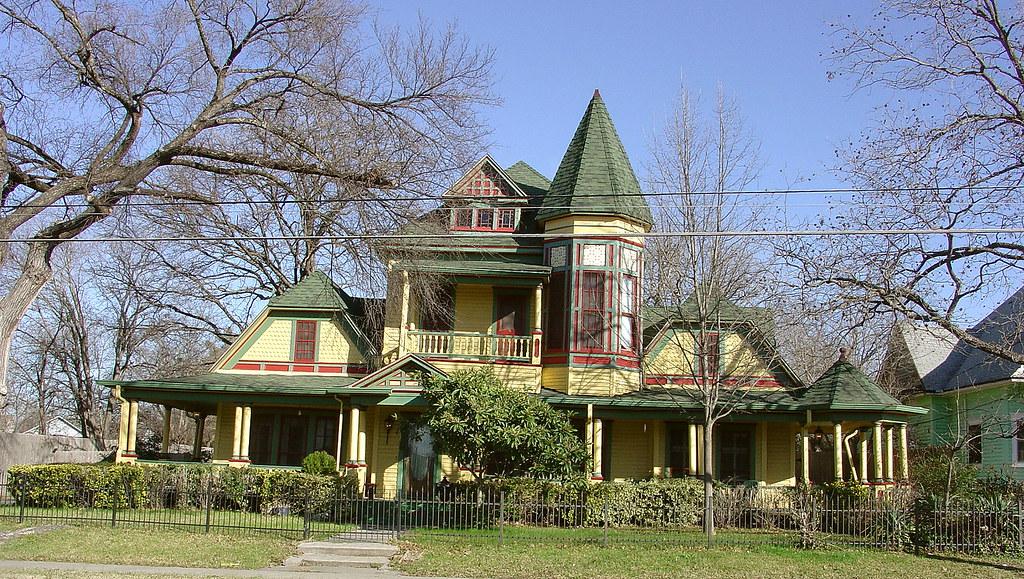 Greenville TX Queen Anne Victorian