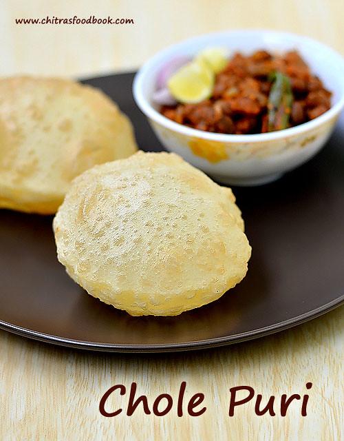 Chola poori recipe