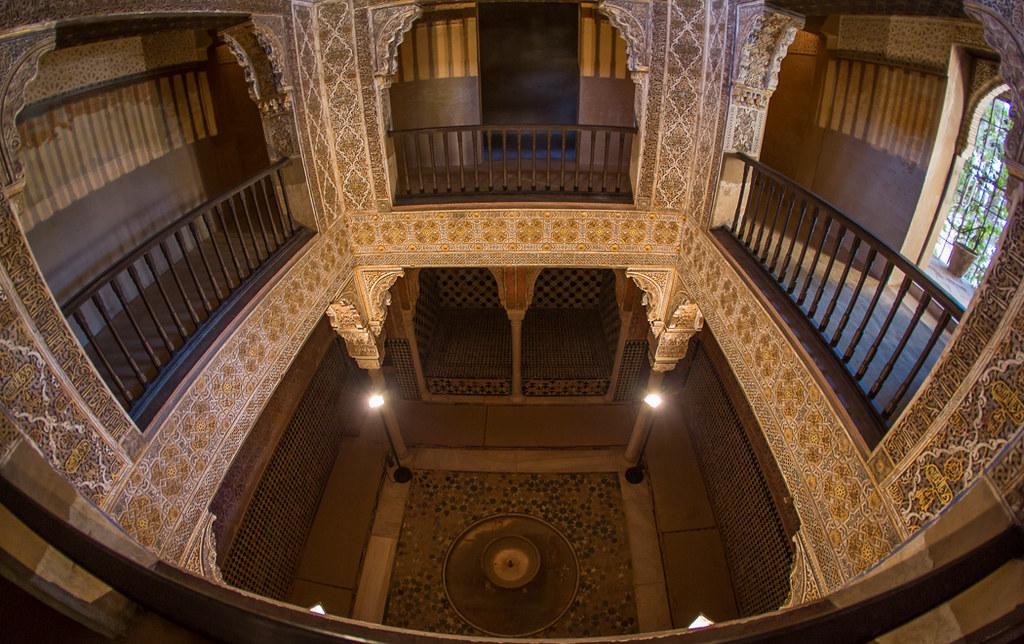 Sala de las camas ba o de comares la alhambra - Banos arabes palacio de comares ...