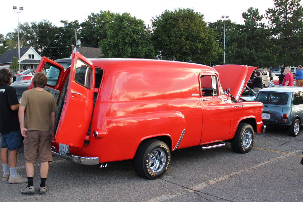 1958 Dodge hot rod Town Panel delivery | Richard Spiegelman | Flickr