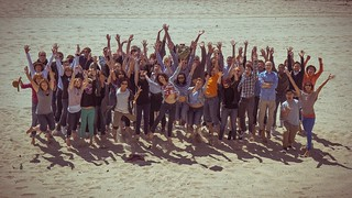 Mozilla Engagement offsite Spring 2011 - jump photo | by Christopher More