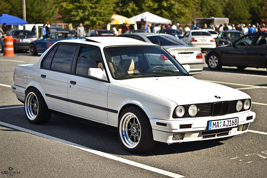 Alpine White Bmw E30 3 Series Shaun Rodecker Flickr