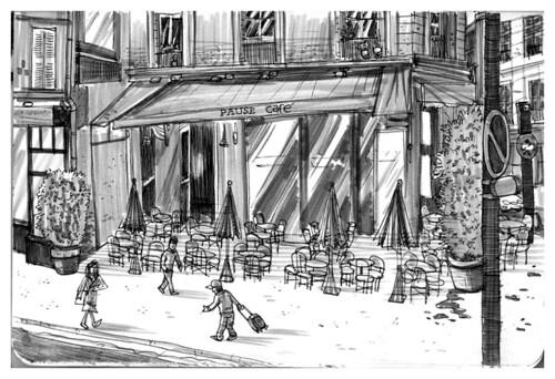 Pause Cafe Rue De La Croix Lav Ef Bf Bdrune