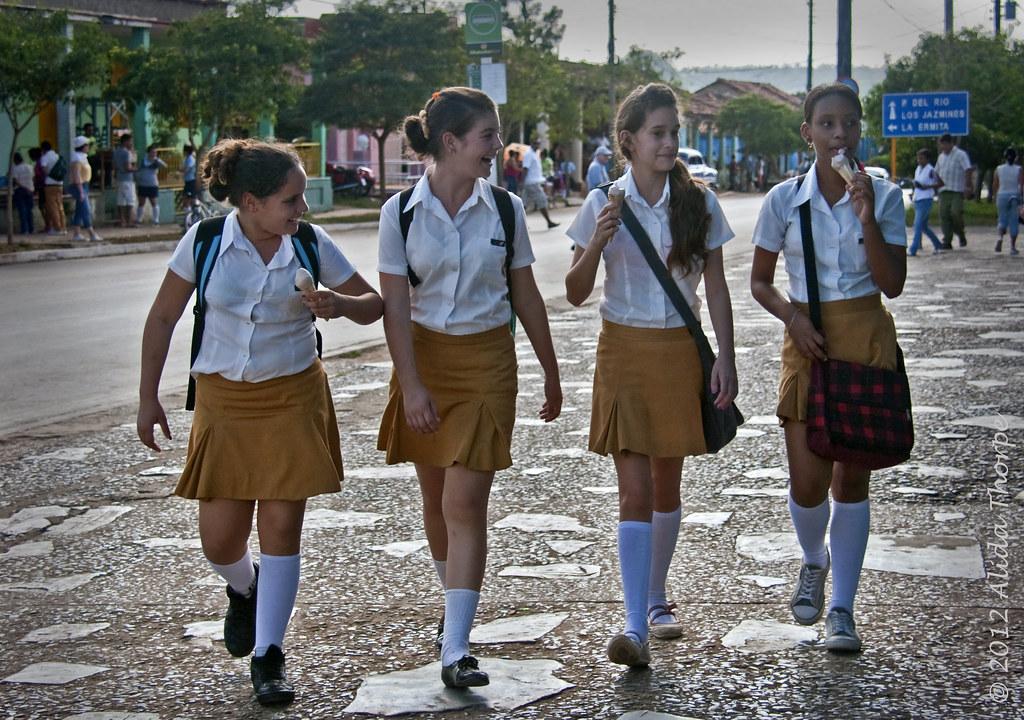 School Girls Cuba  All My Cuba Photos Processed So Far -5411
