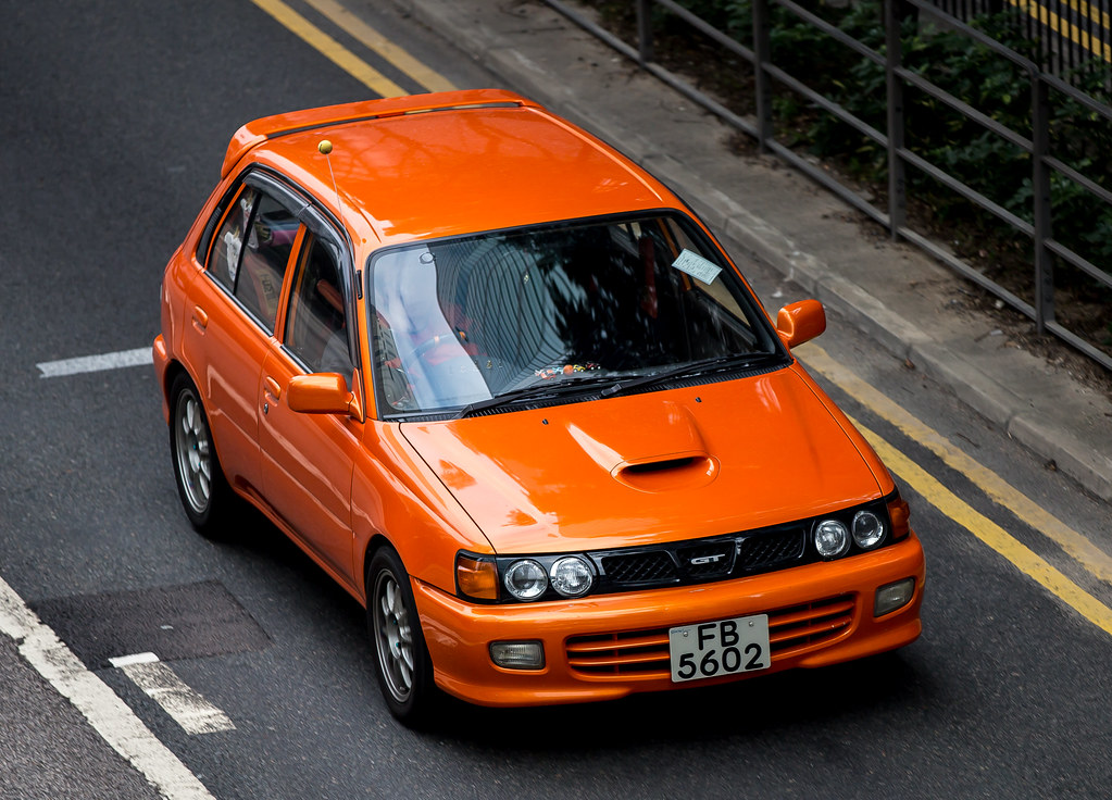 ... Toyota Starlet   FB5602 | By Keith Mulcahy