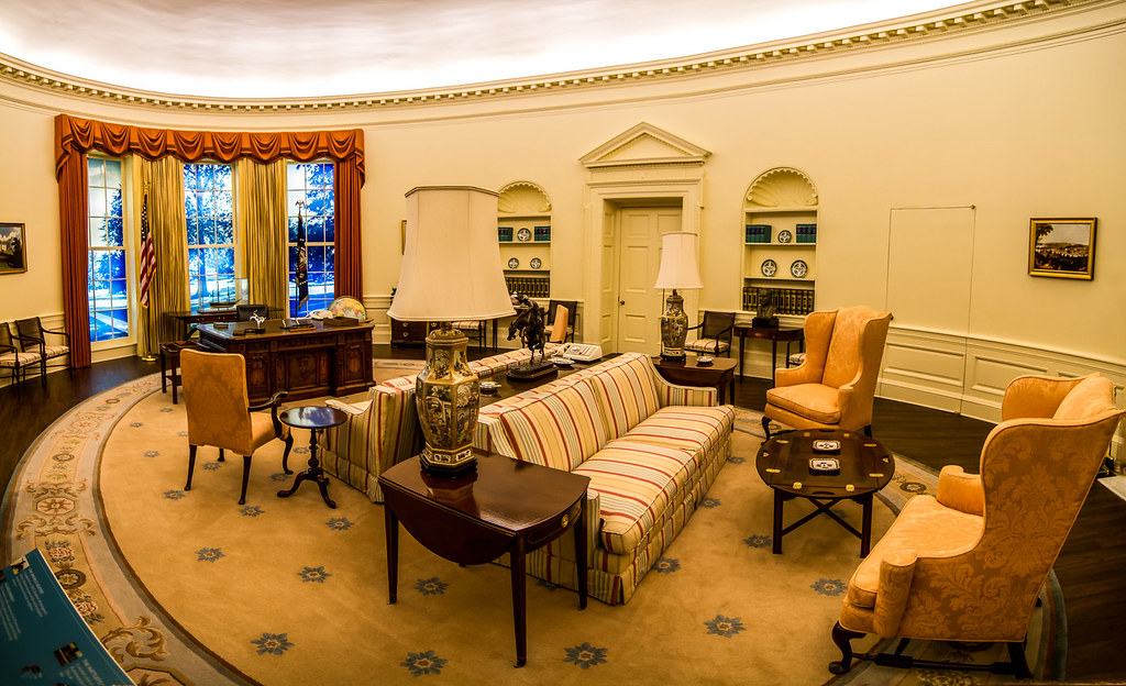 Jimmy Carter Oval Office From The Carter Presidential