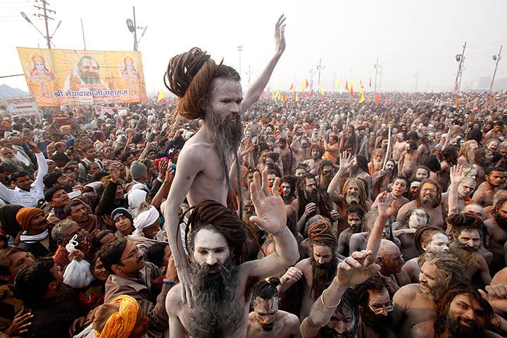 Nude hindu males