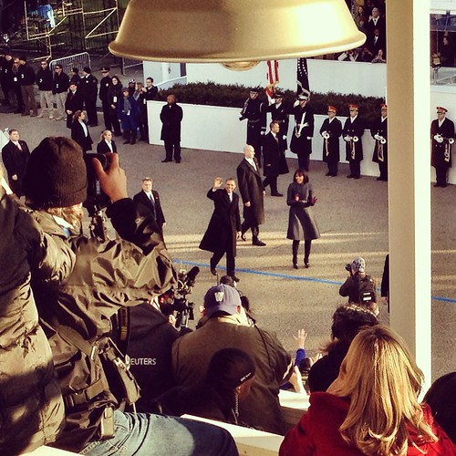 Obama arrives at the WH (Washington DC) | by hollynyc