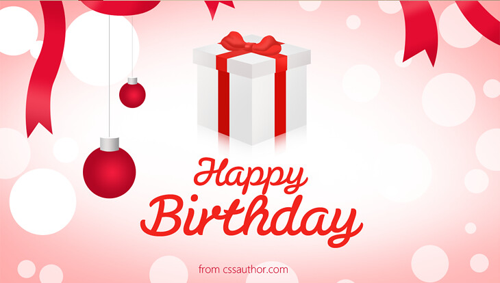 Happy Birthday Greetings Card Template Psd Cssauthor Flickr
