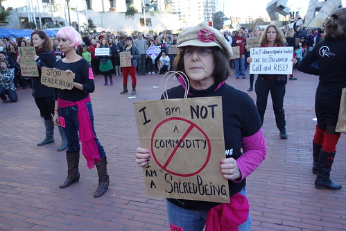 One Billion Rising on 40th Anniversary of Roe v Wade in San Francisco | by Steve Rhodes