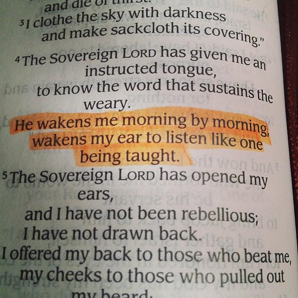good morning with bible verse