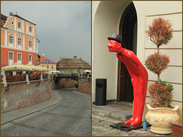 Colourful, quirky Sibiu