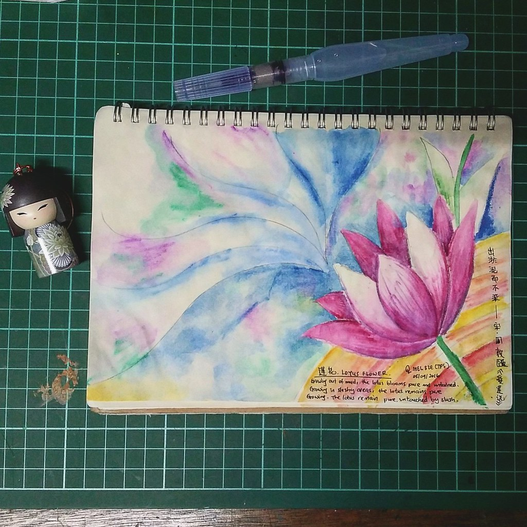 Lotus Flower A New Try First Time Use This Brush Flickr