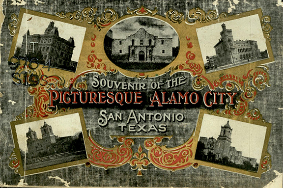 San Antonio Traction Company. Souvenir of the Picturesque Alamo City, San Antonio, Texas. San Antonio: Ebers & Wurtz, 1907. Print.