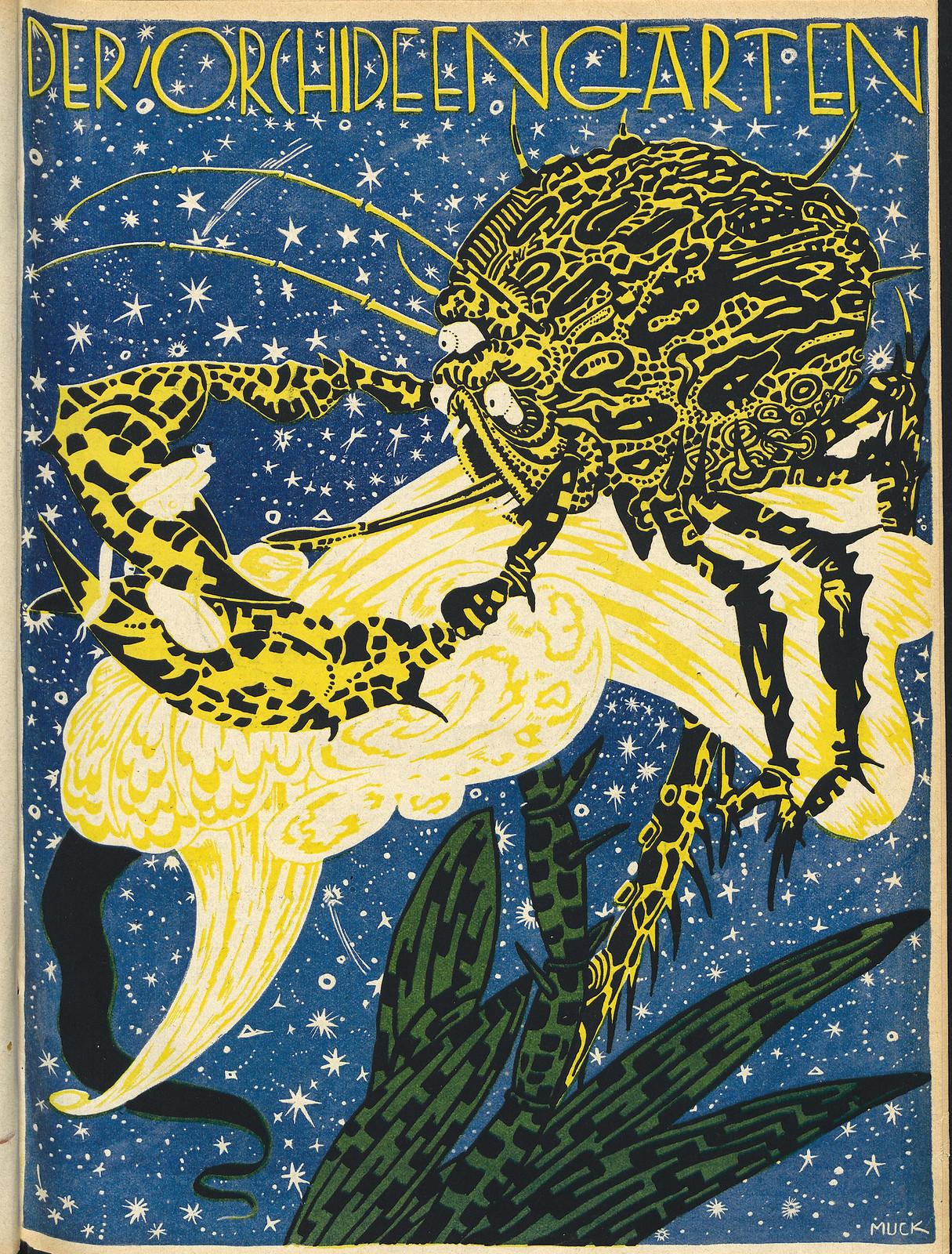 Der Orchideengarten - 1919 (Cover 6)