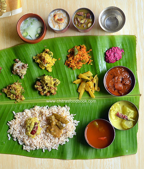 Onam sadya items