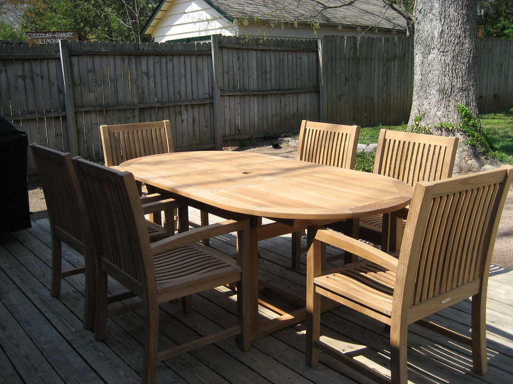 ... Outdoor Teak Dining Set | By Atlanta Teak Furniture