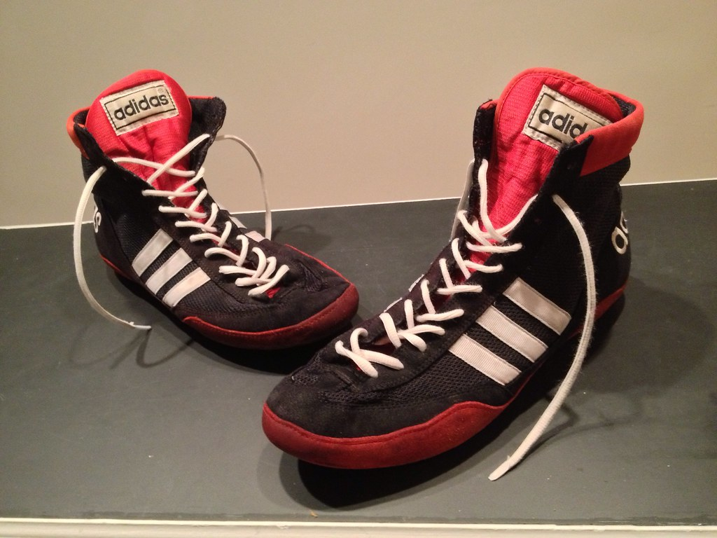OG Adidas Combat Speed Wrestling Shoes - GONE | Size 11.5 GO ...