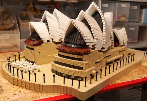 Sydney Opera House Lego Lego Moc / Sydney Opera
