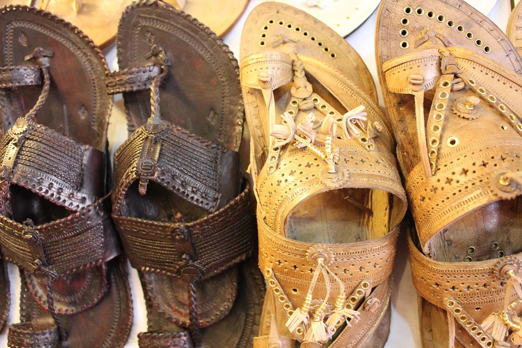 What Is Leather Made Of >> Kolhapuri Chappal | Kolhapuri chappals are famous all over t… | Flickr