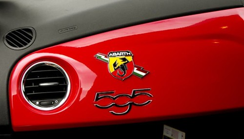 Abarth 595 Badge A Photoshopped Abarth 595 Badge