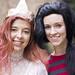 Princess Bubblegum and Marceline (DCAD-oween 2012)
