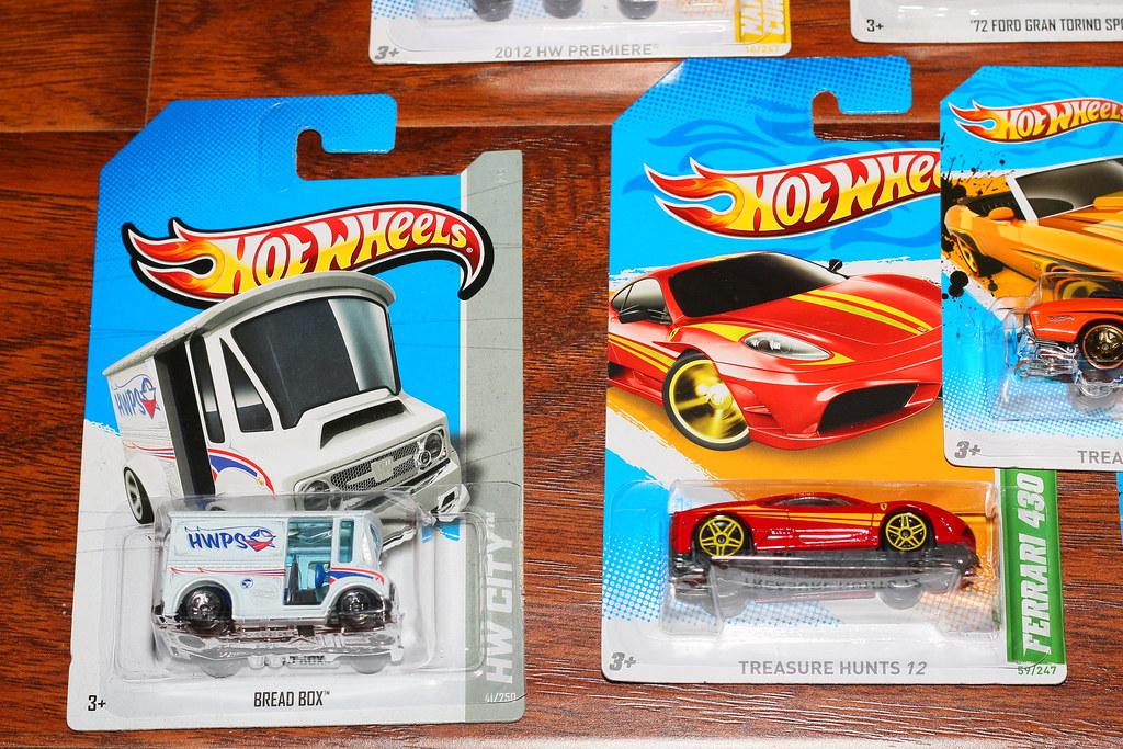 rare hot wheels and treasure hunt cars bread box and ferr - Rare Hot Wheels Cars 2012