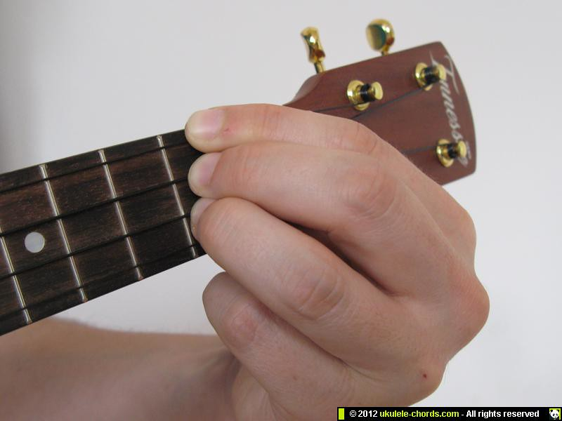 Df Ukulele Chord How To Play A Df Slash Chord On The U Flickr