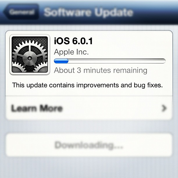 3 #minutes to #update my #iphone #4s #ios6 #frameware #wh