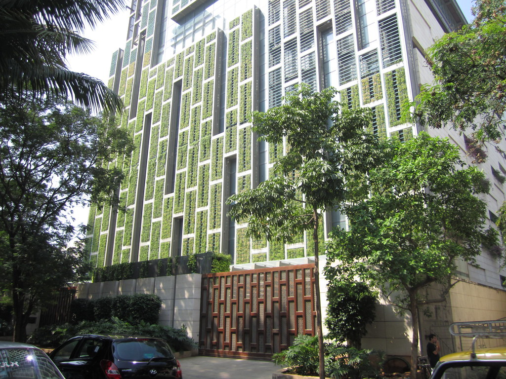 Antilia S Living Green Walls Antilia Is Named After