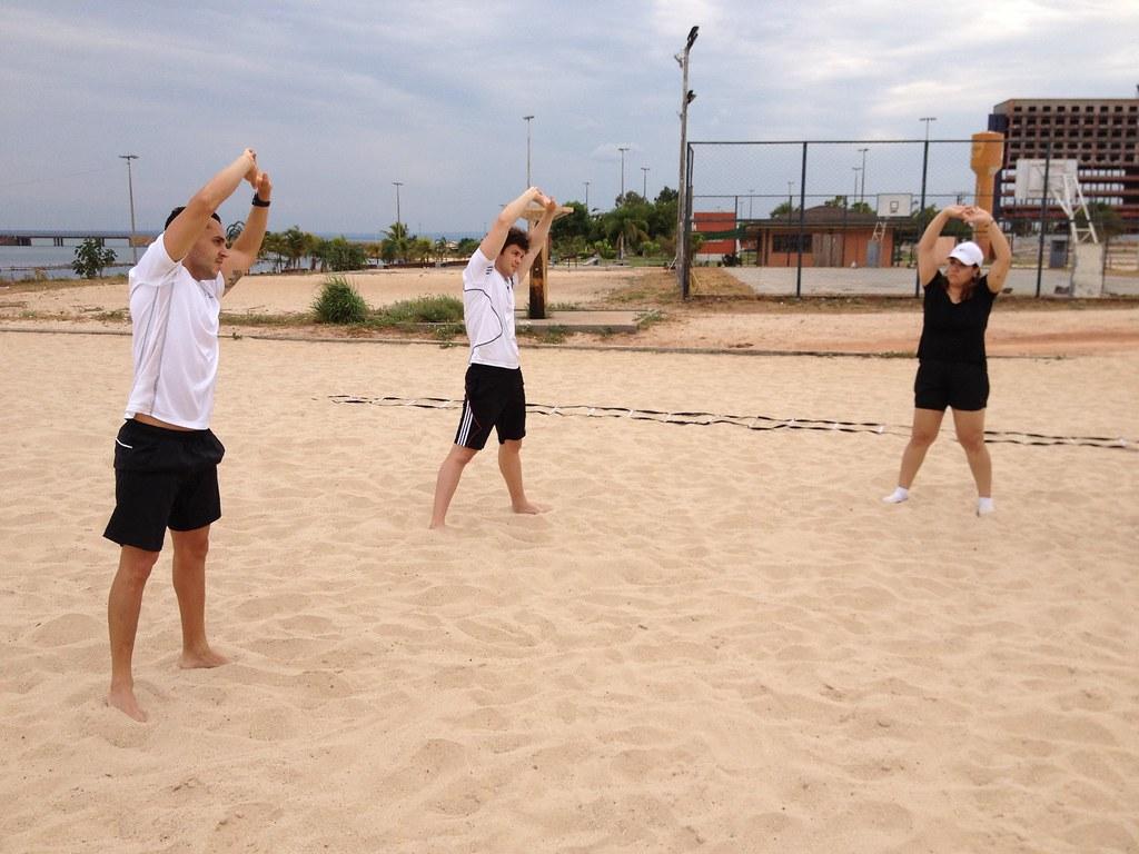 Circuito Funcional : Circuito funcional na praia da graciosa g sport performance e