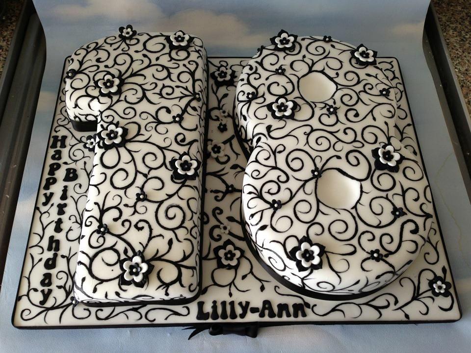 18th Birthday Swirls Cake Jordana Fournillier Flickr