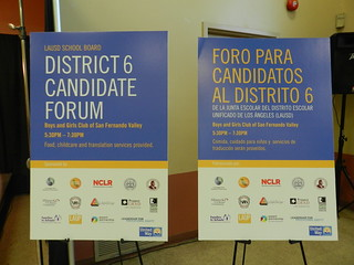 13 School Board Candidate Forum-district 6, 1.31.13 001 | by UnitedWayLA