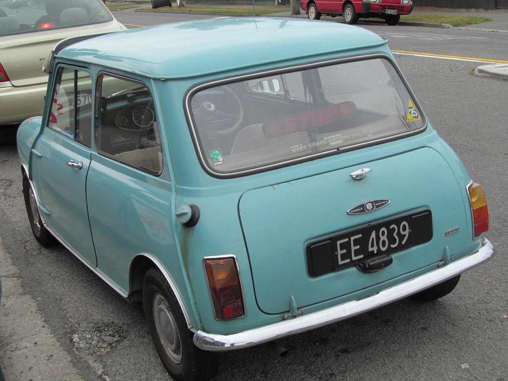 1969 Morris Mini 1000 Mk2 Ee4839 This Was Unbelievably