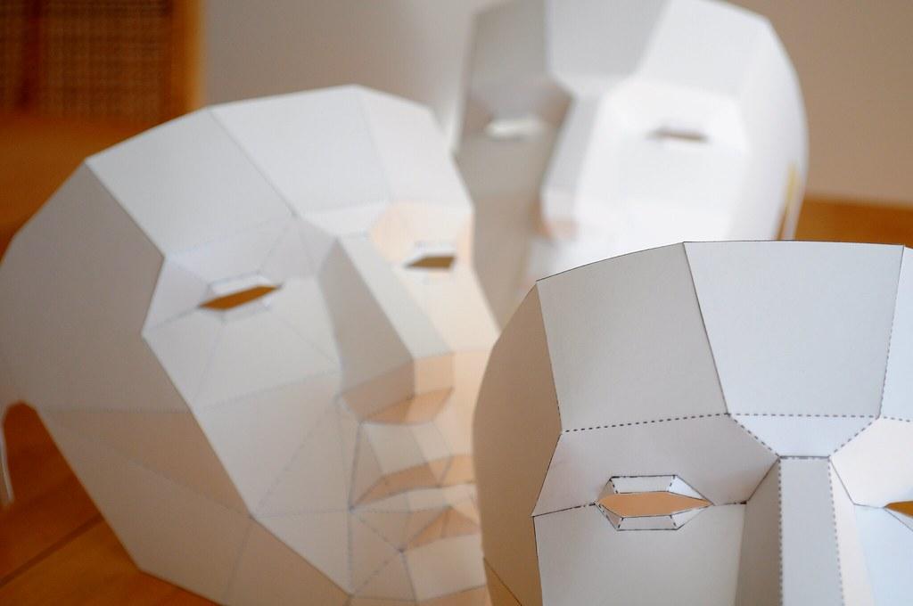 Animal Paper Craft Pattern