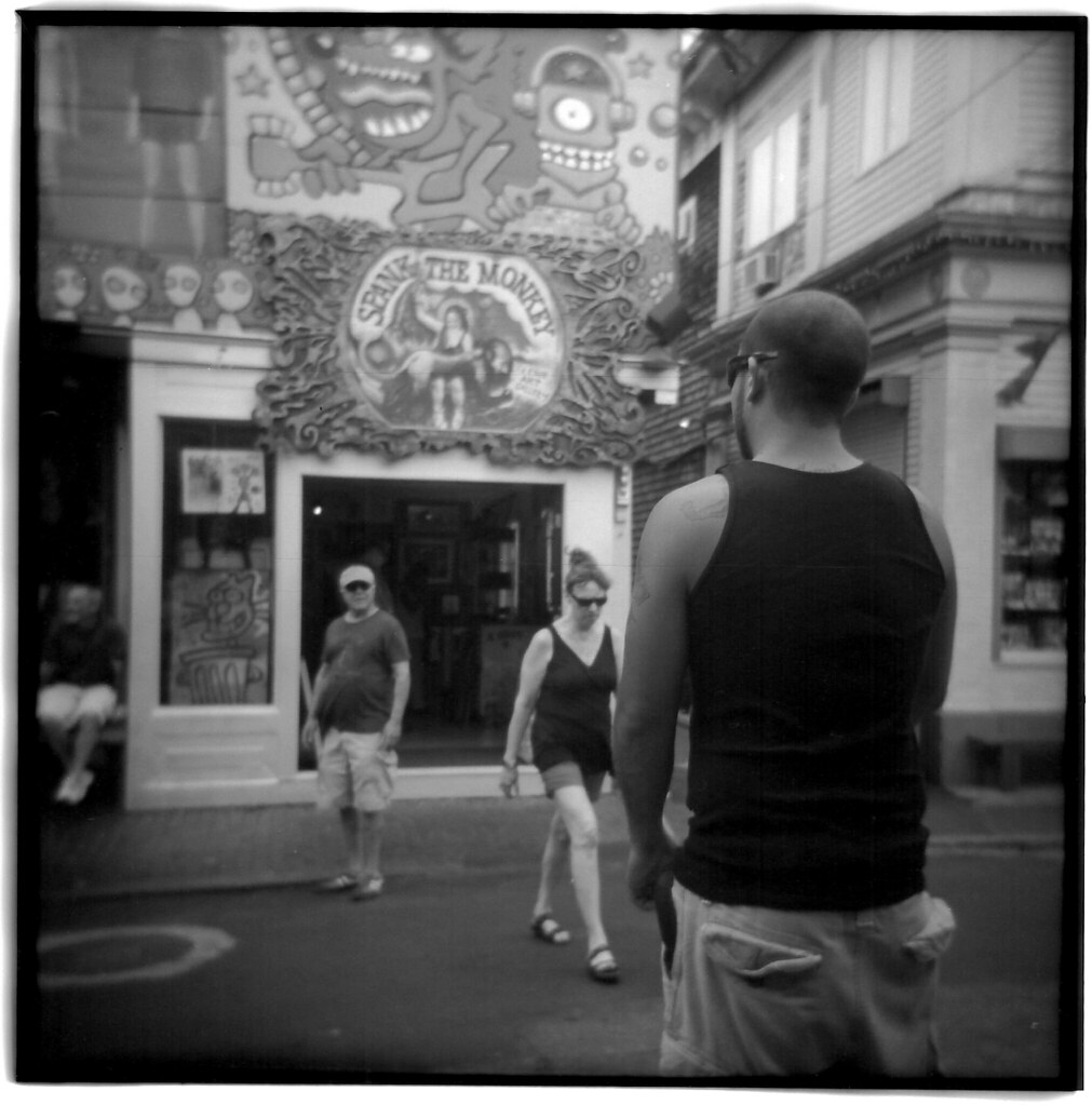 Spank The Monkey! - Provincetown | Holga 120FN Ilford FP4 ...