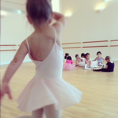 4yo beauty in her 3rd day of ballet | by jcpritchard